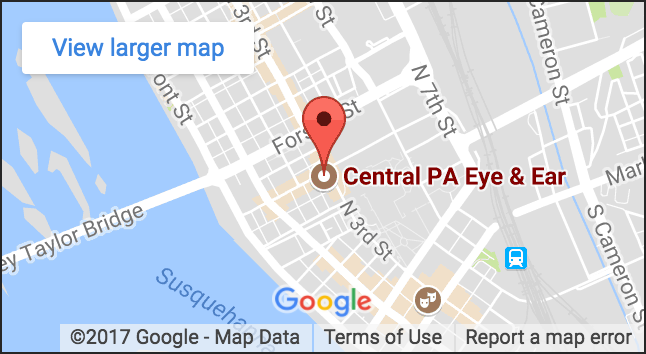 Central PA Eye and Ear Google map